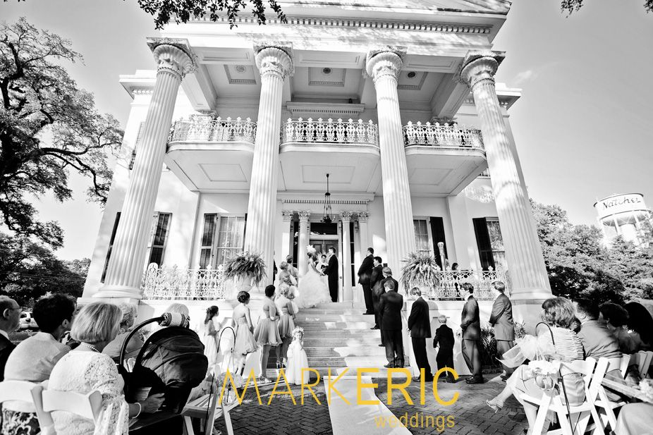Stanton Hall Is Just One Of The Beautiful Venues Avaliable For Your Destination Wedding In Natchez