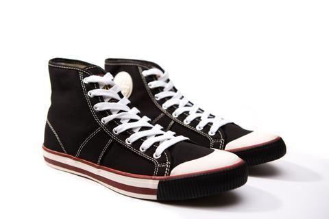 US Rubber Company 1902 Sneaker,Original Baller® Harry Lew® Signature Sneaker High Top