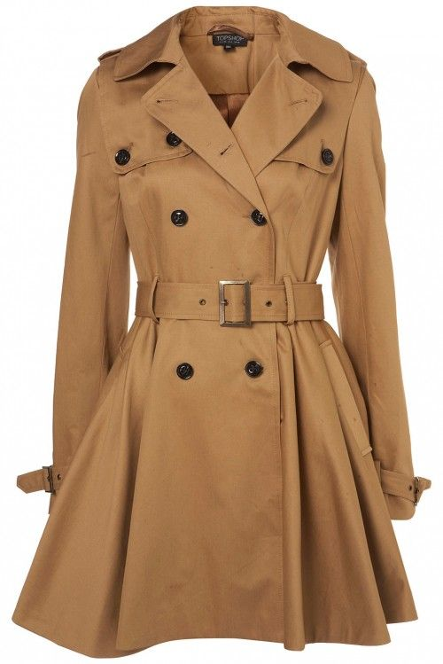 Trench coats are timeless.