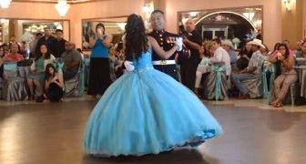 Il danse avec sa fille pour son anniversaire, mais ce qu'il fait peu après surprend tout le monde!