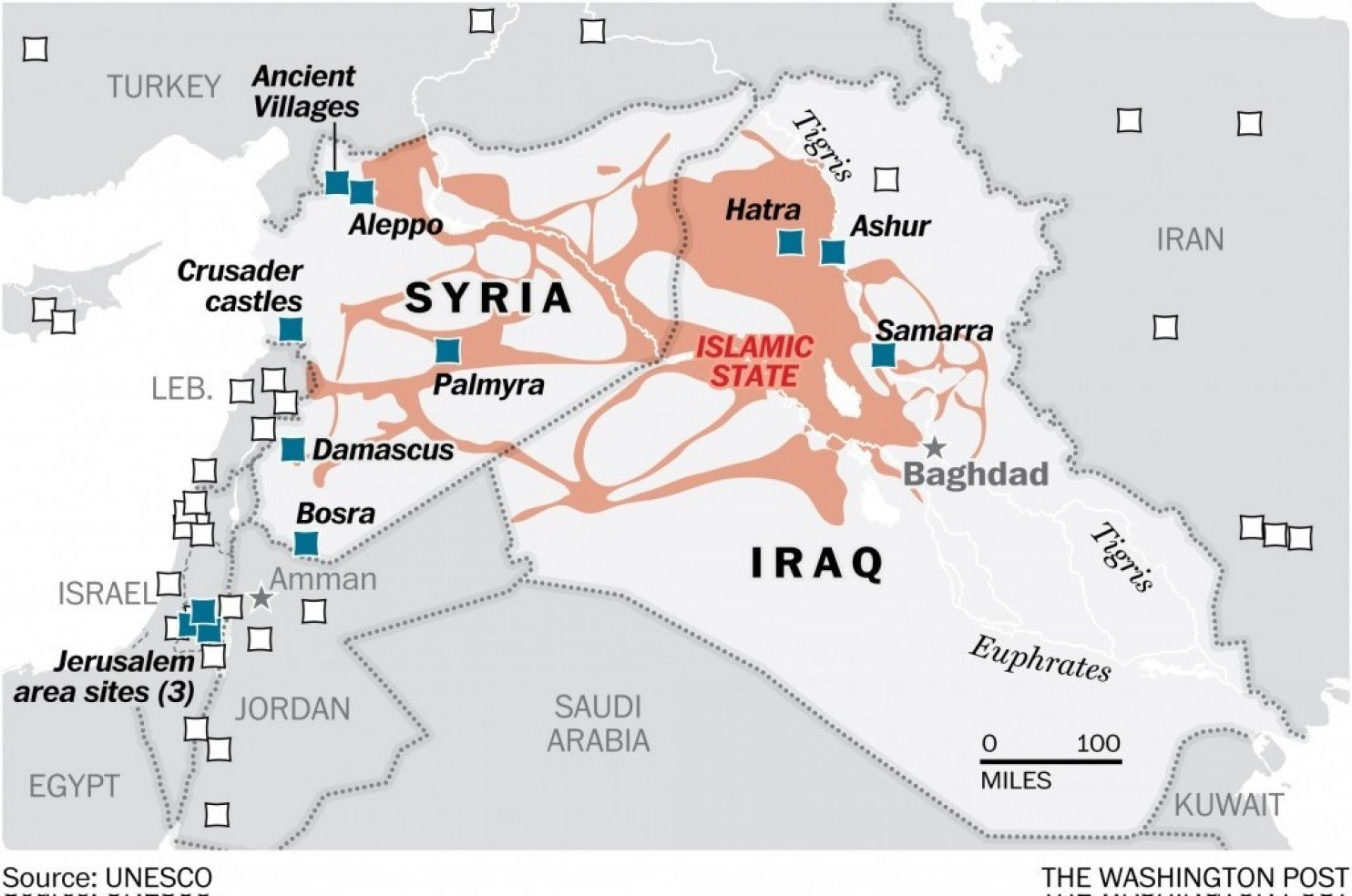 Map there are 10 world heritage sites in iraq and syria nine are map there are 10 world heritage sites in iraq and syria nine are in danger gumiabroncs Choice Image