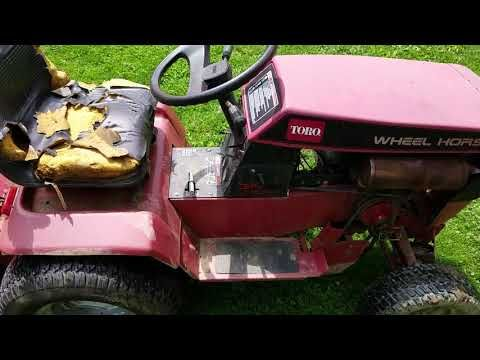 Wheel Horse 314 H With Tiller You Kohler