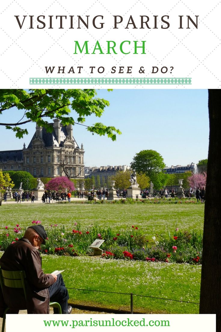 If you haven't yet visited #Paris in #March, you're in for a slow-motion magic show. Find out why I think it's one of the best times to visit, and get my expert #traveltips and suggestions on what to see and do! #springtravel #europe #France