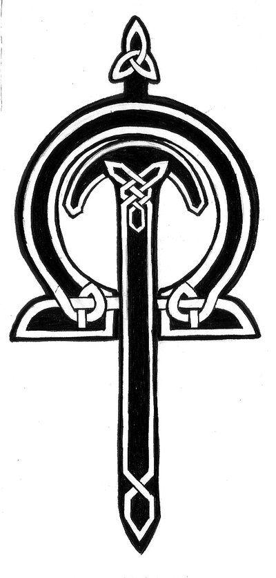 Justicia (celta) | Símbolos celtas | Pinterest | Celta, Tatuajes y ...