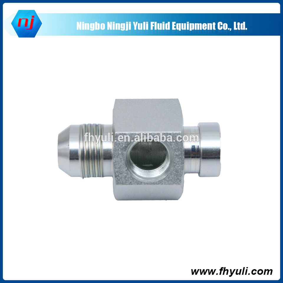 NJ6504 hydraulic butt weld npt threaded fittings