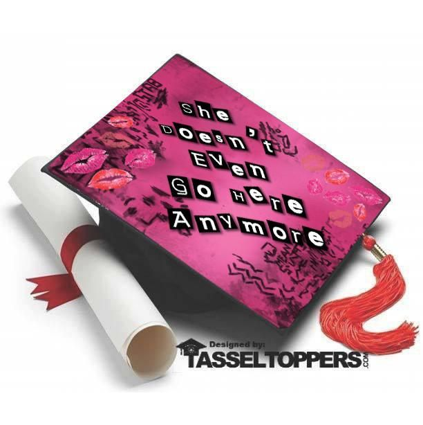 Graduation Cap Clever Girl: Mean Girls Grad Cap Tassel Topper