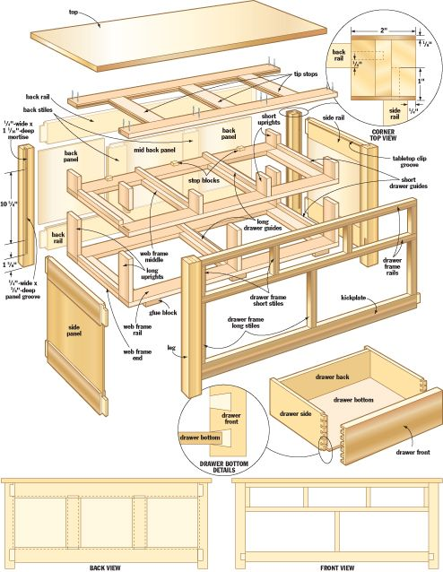Mission coffee table plans find an exhaustive list of for Mission style end table plans