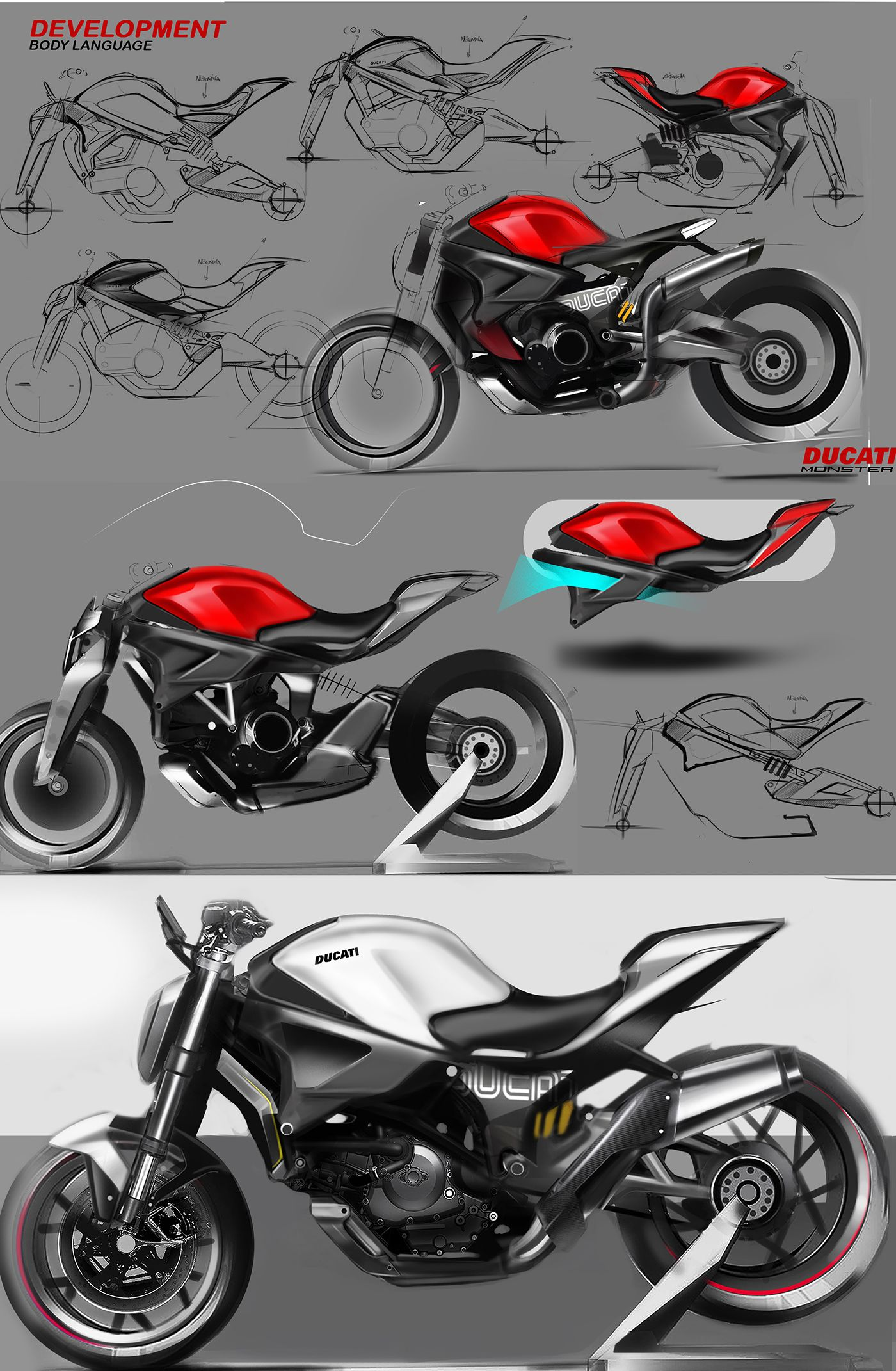 Concept Idea For Ducati Monster (With Images)