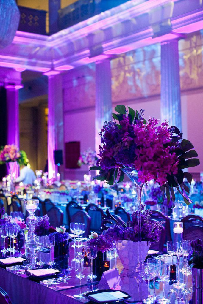 Magical Violet Washington Dc Wedding At Corcoran Gallery Of Art