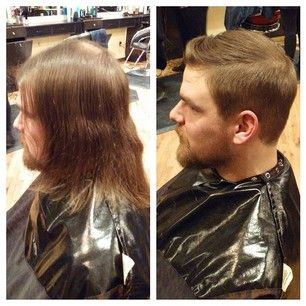 21 Men Who Will Make You Believe In The Power Of Makeovers Mens Haircuts Fine Hair Haircuts For Men Mens Hairstyles