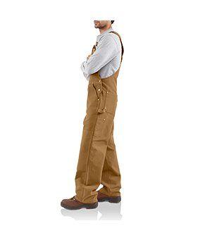 carhartt duck unlined bib overall carhartt overalls on work coveralls id=41223