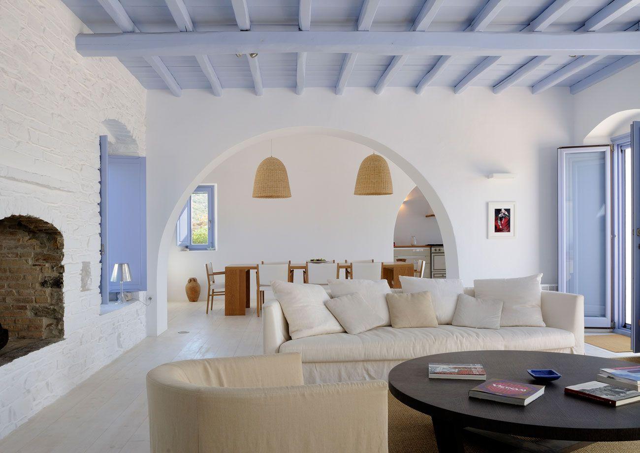 Photo gallery private villas and luxury accomodation in for Arredamento greco