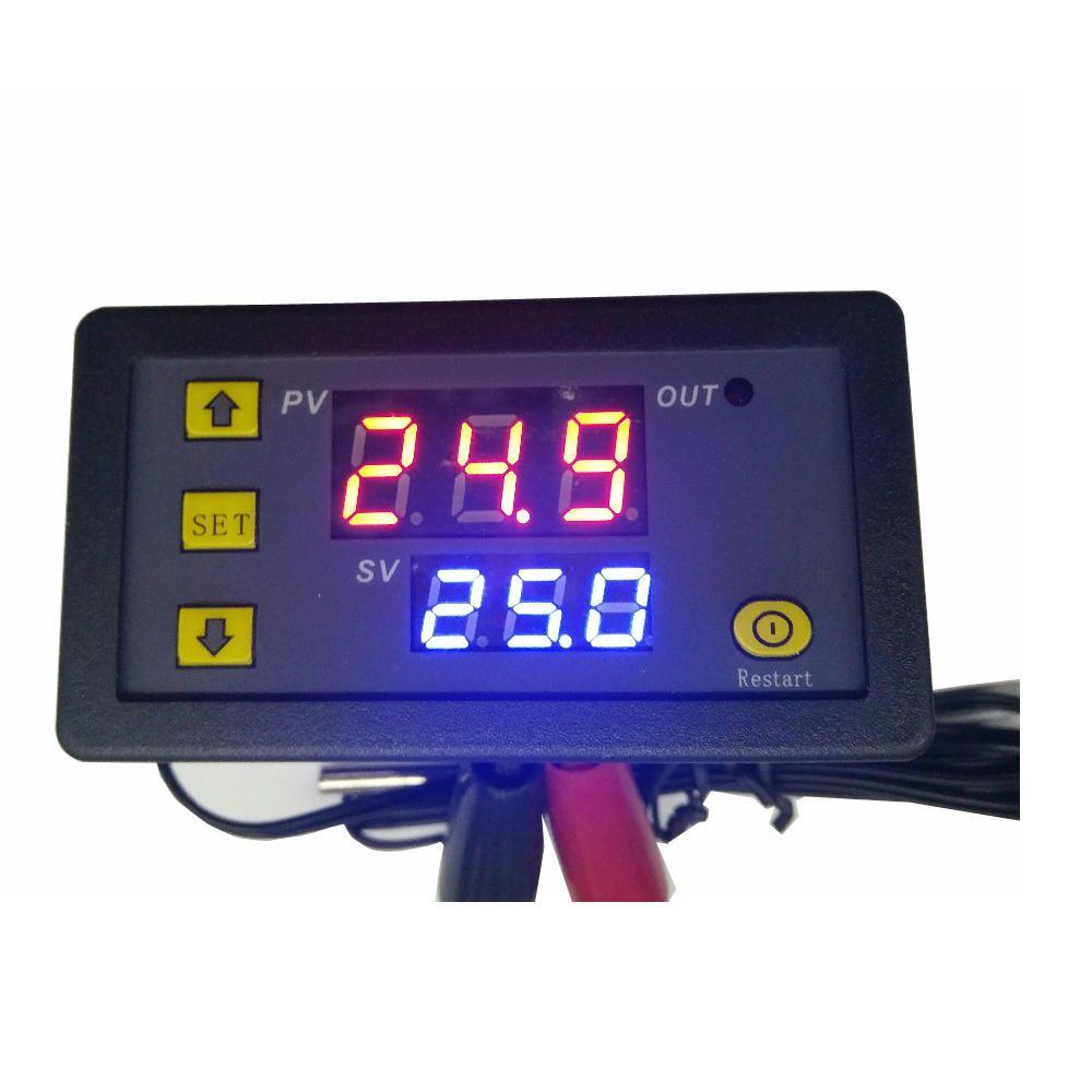 US7.51 25 W1018 5V 12V 24V 10A Digital Thermometer