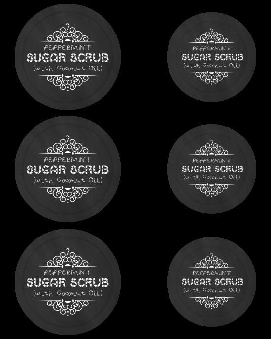 How To Make Peppermint Sugar Scrub As A Holiday Gift Jar