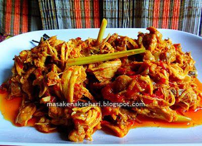 Resep Membuat Ayam Suwir Bumbu Prasmanan Aneka Resep Masakan Sederhana Sehari Hari Resep Ayam Resep Masakan Indonesia Resep Masakan