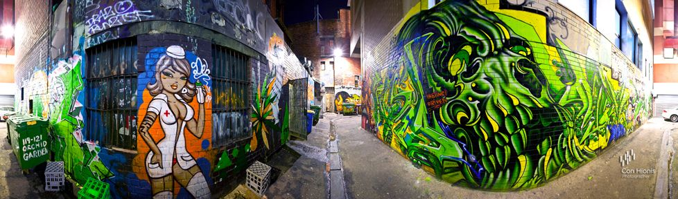 Melbourne Laneways Instinct Driver