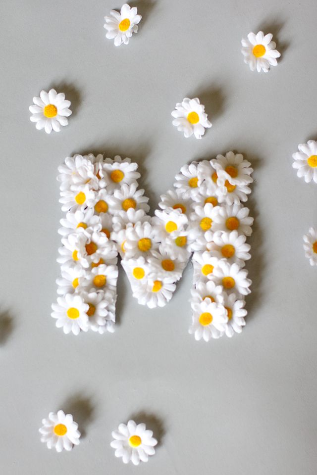Floral Name Letters with Lorena Canals - see kate sew