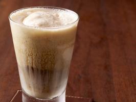 Guinness Float : Make homemade Baileys Irish Cream and Irish whiskey-spiked ice cream to top off this Guinness Float.