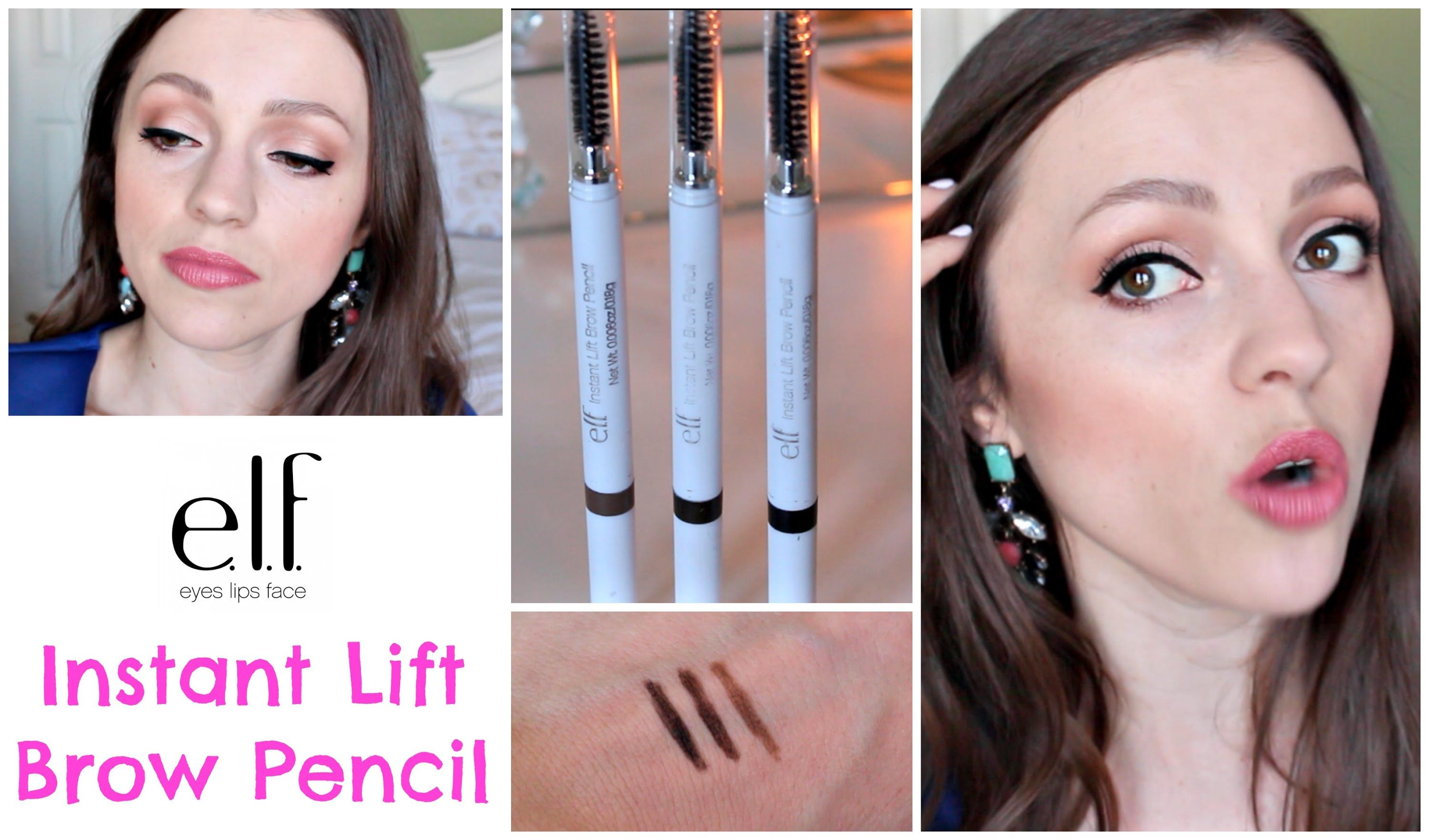 ELF Instant Lift Brow Pencil ($2) | Review, Demo, Swatches ...