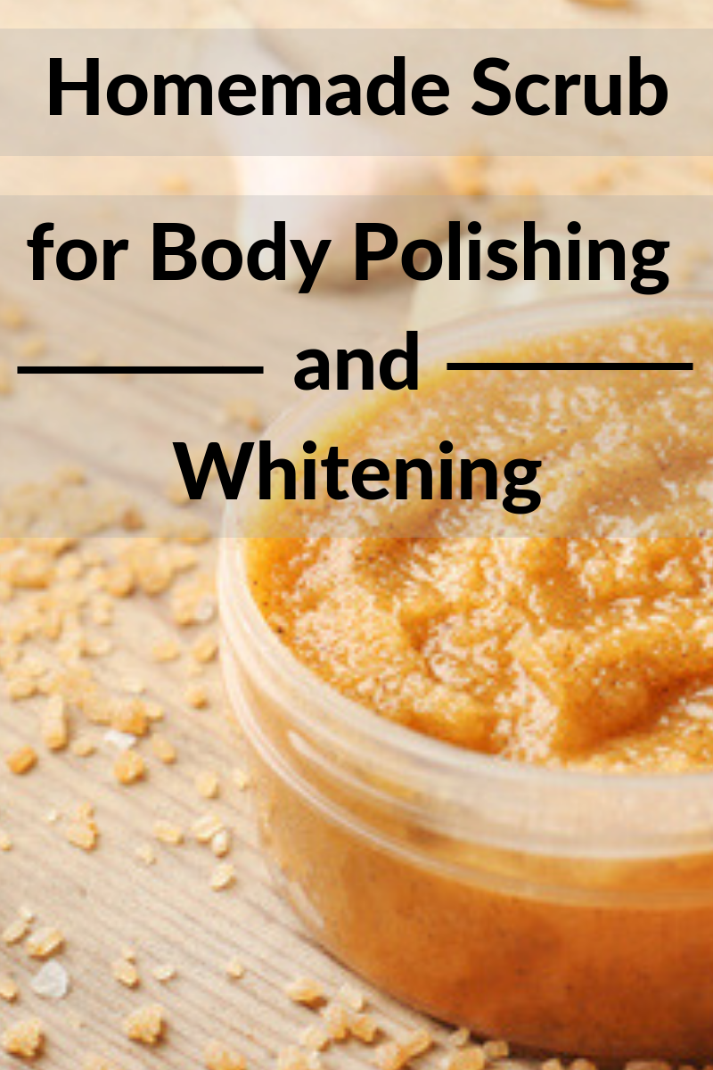 Homemade Body Polishing & Skin Whitening Scrub is part of Whitening skin - This scrub will remove dead skin cells, blackheads, Whiteheads and suntan  It will also help in lessening of wrinkles and fine lines  Use this body polishing scrub three times a week to get the fair, whiter, radiant and crystal clear skin  Ingredients you will need 34 walnuts ½ teaspoon of fennel seeds powder 1 green …