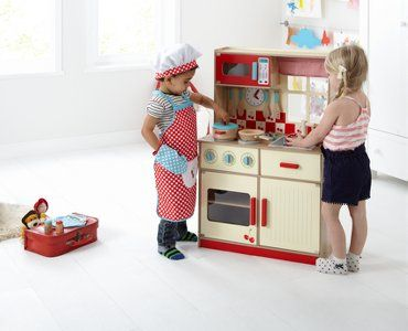George Home Deluxe Wooden Kitchen Kids George At Asda George