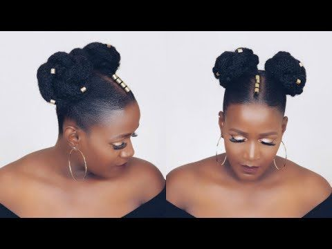 2 99 Affordable Sleek Ponytail On Short Natural Hair In 10 Minutes Youtube Natural Hair Styles Thin Natural Hair Braids For Thin Hair