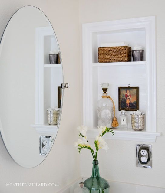 Superieur Remive The Medicine Cabinet Ans Replace Withna Shelf And Decorative Items.