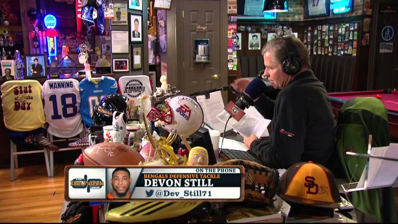 Devon Still On The Dan Patrick Show Full Interview 9 15 14 Dan Patrick Brady Quinn Quinn