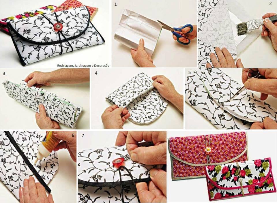 Faça vocês mesmo - Artesanato com Reciclagem