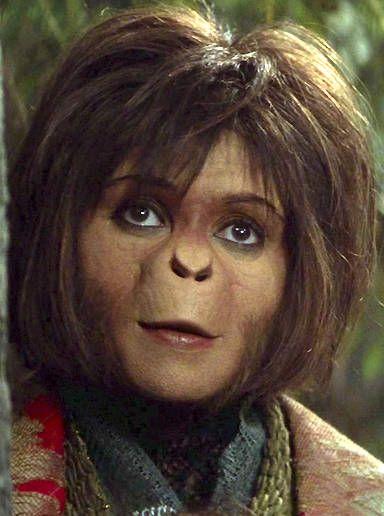 Helena Bonham Carter Planet Of The Apes 2001 Planet Of The Apes Helena Bonham Carter Prosthetic Makeup