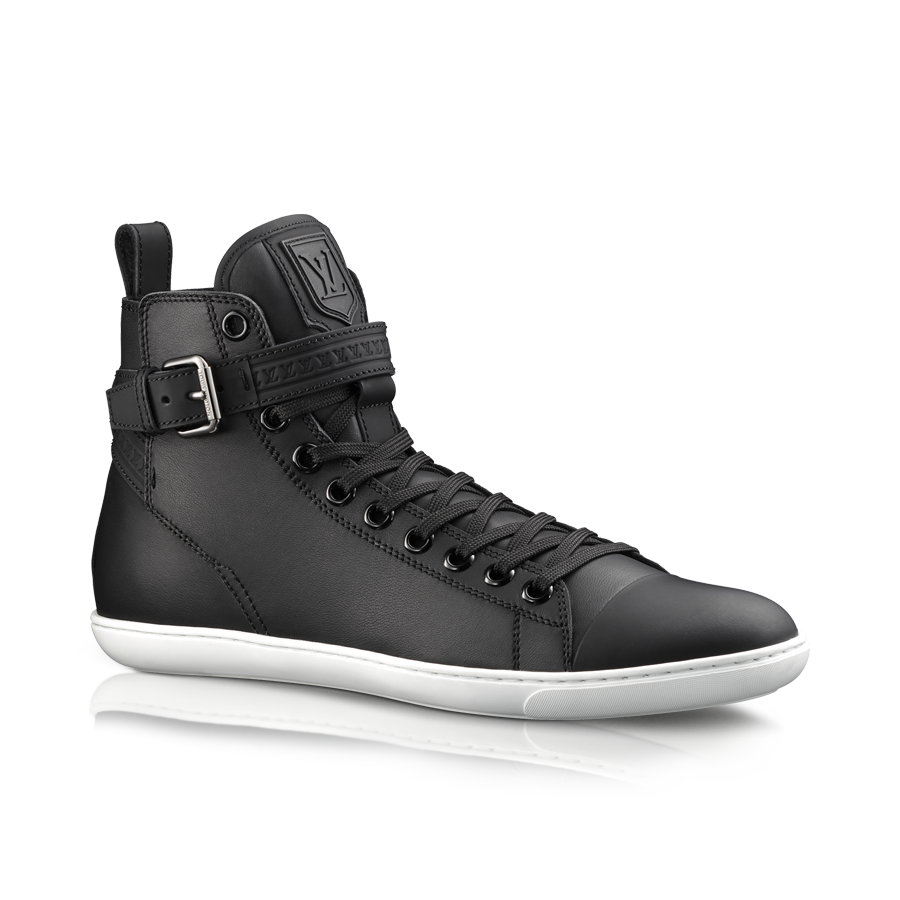2014220bfd69 Falcon sneaker boot in mat calf via Louis Vuitton