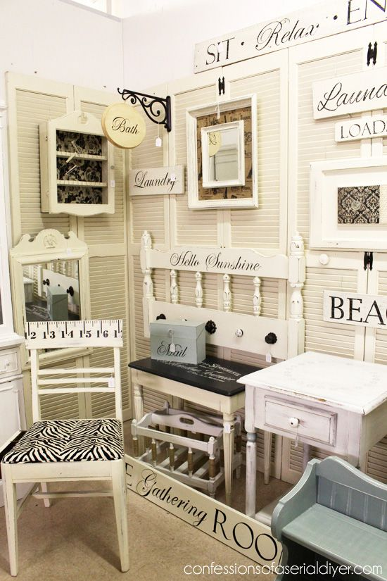 Delicieux My Booth Space {Virginia Beach Antique Mall}