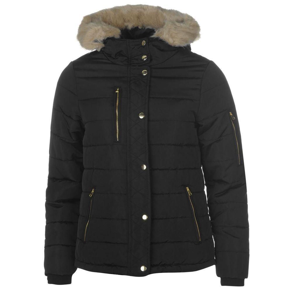 Golddigga Bubble Jacket Ladies Black Size UK 20 rrp 64.99 ...