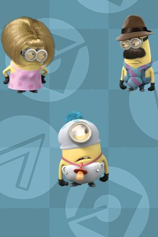 Despicable Me Minion Family Despicable Minions Minions