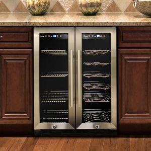 Vinotemp, DualZone Wine and Beverage Cooler, VT36 at The