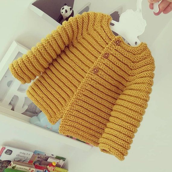 Photo of Stricken Baby Strickjacke – Merino stricken Baby Strickjacke – handgestrickte Pullover – handgemachte Neugeborene – stricken Babyjacke – Neugeborene stricken