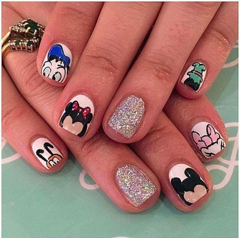 trendy nails disney short 40 ideas  nail designs unique