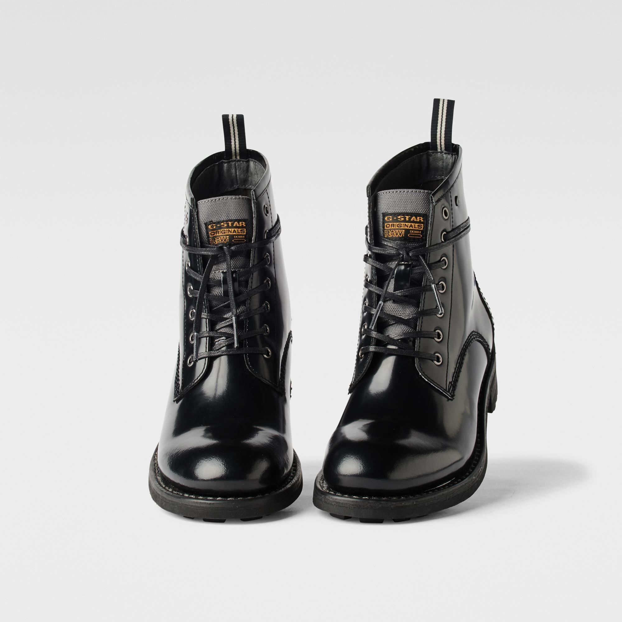 Grandes ofertas de Outlet Zapatos negros formales G-Star Raw para mujer 100% Original Oficial Q3Fs7