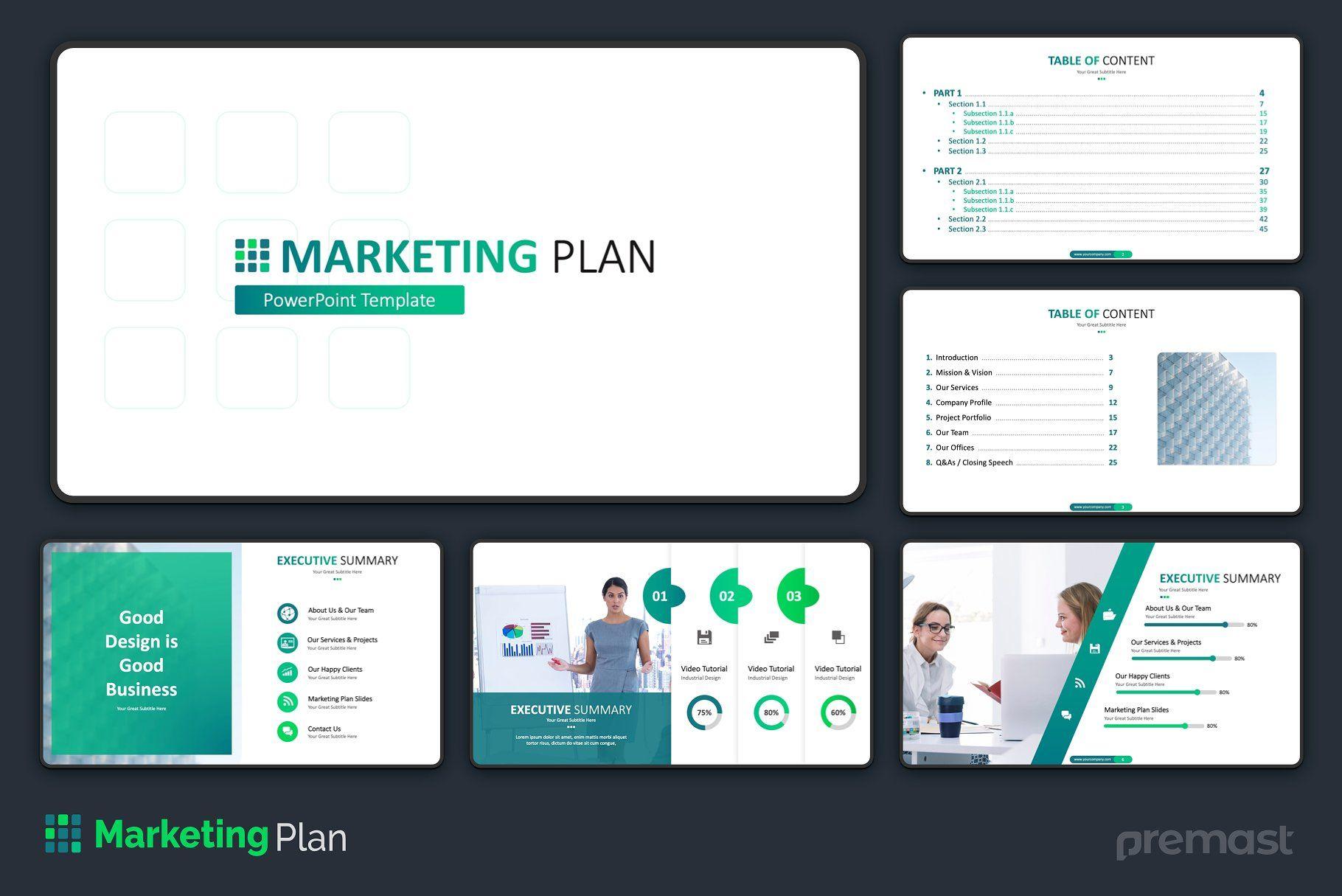 Marketing Plan Powerpoint Template Marketing Plan Powerpoint