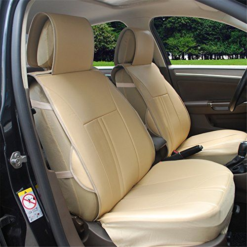 120903s Tan2 Front Car Seat Cover Cushions Leather Like Vinyl Compatible To Mercedesbenz Ml350 Ml400 Ml500 Sl500 Cl5 Leather Car Seat Covers Car Seats Mini Van