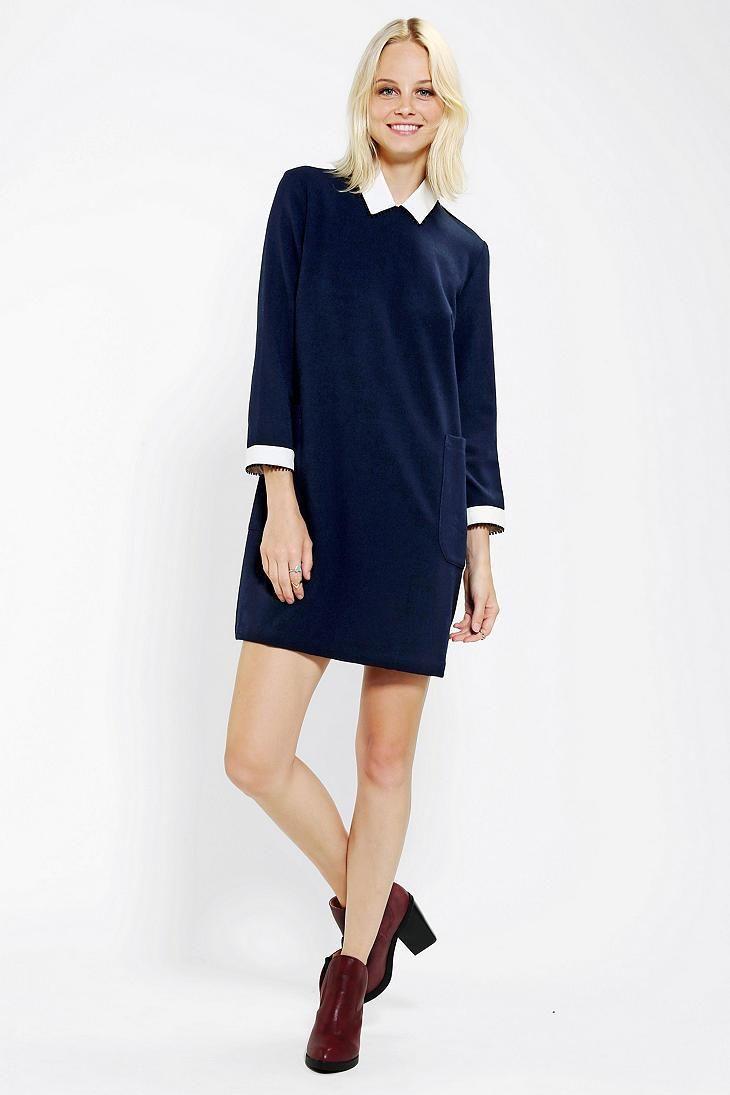 Little White Lies Concepta Collared Dress #urbanoutfitters #littlewhitelies