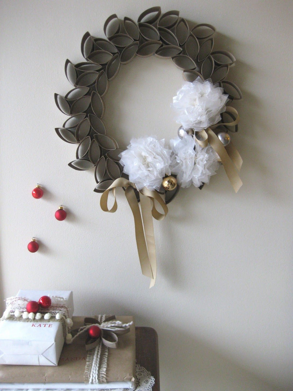 Lovely Trash Creative Ways To Reuse Trash Toilet Roll Wreath
