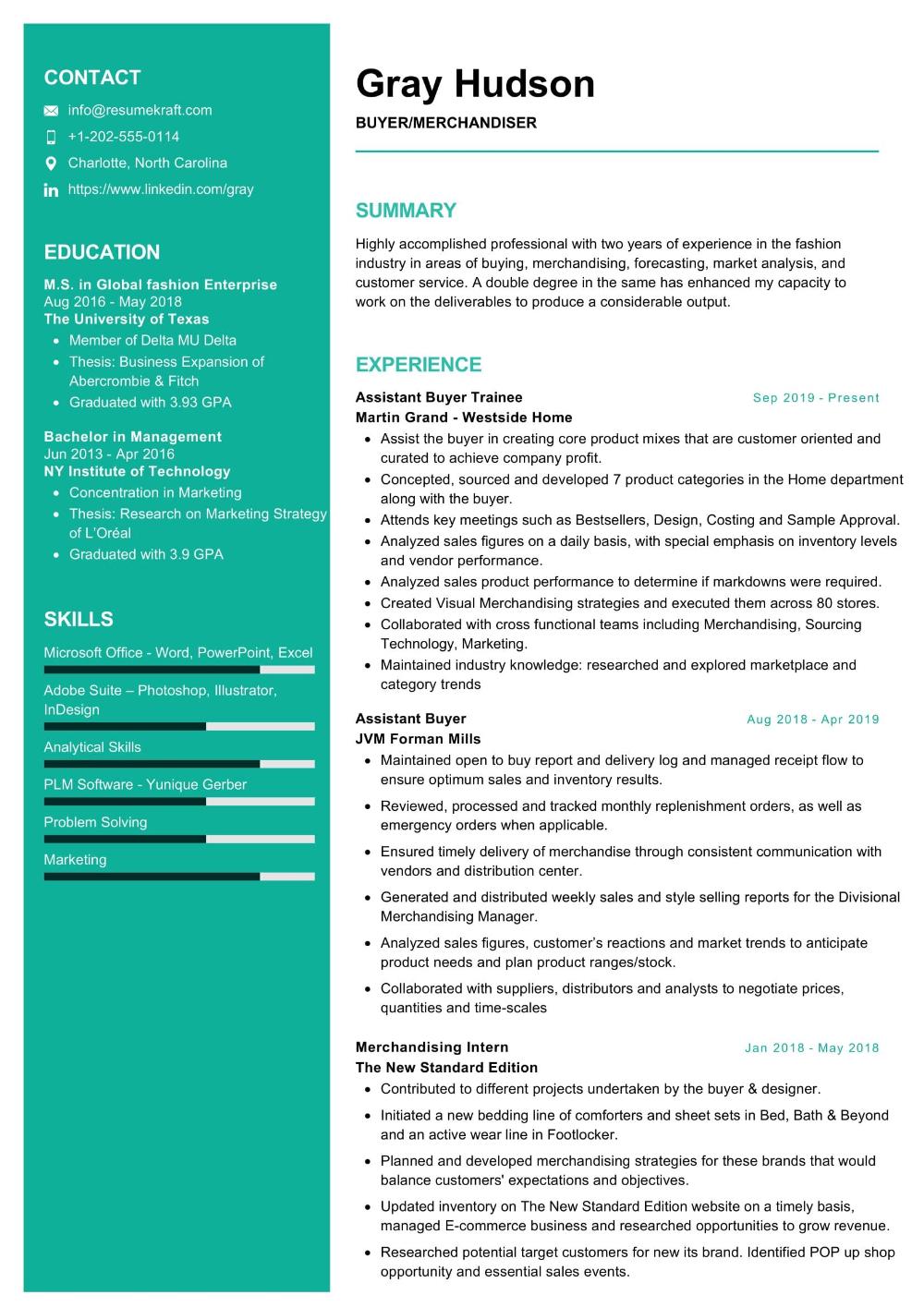 100 Professional Resume Samples For 2020 Resumekraft Professional Resume Samples Resume Examples Interview Tips