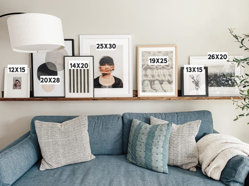 Mix It Up 10 Ways To Display Art In Your Home Couches Living Room Home Decor Living Room Decor