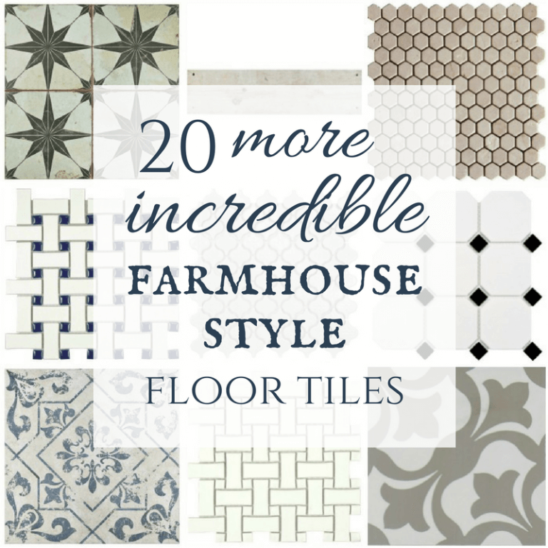20 more incredible modern farmhouse tiles with sources modern farmhouse interiors farmhouse on farmhouse kitchen tile floor id=76362