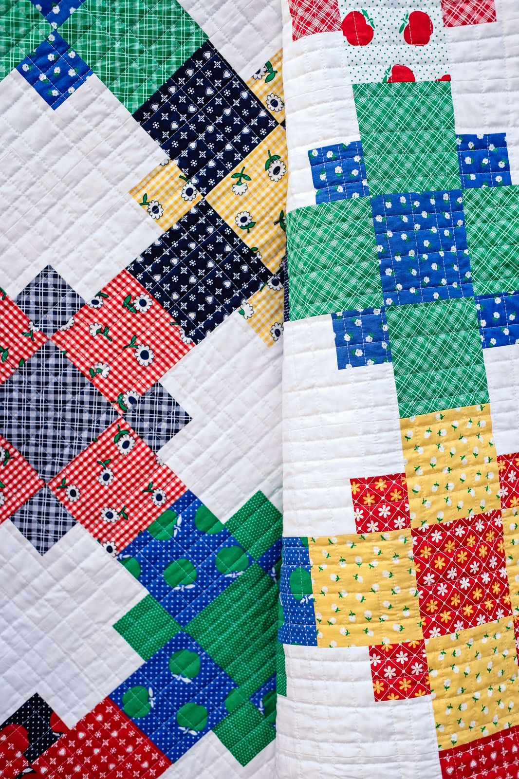 Sunnyside Ave Even-Steven Quilt (With images)  Scrappy quilt