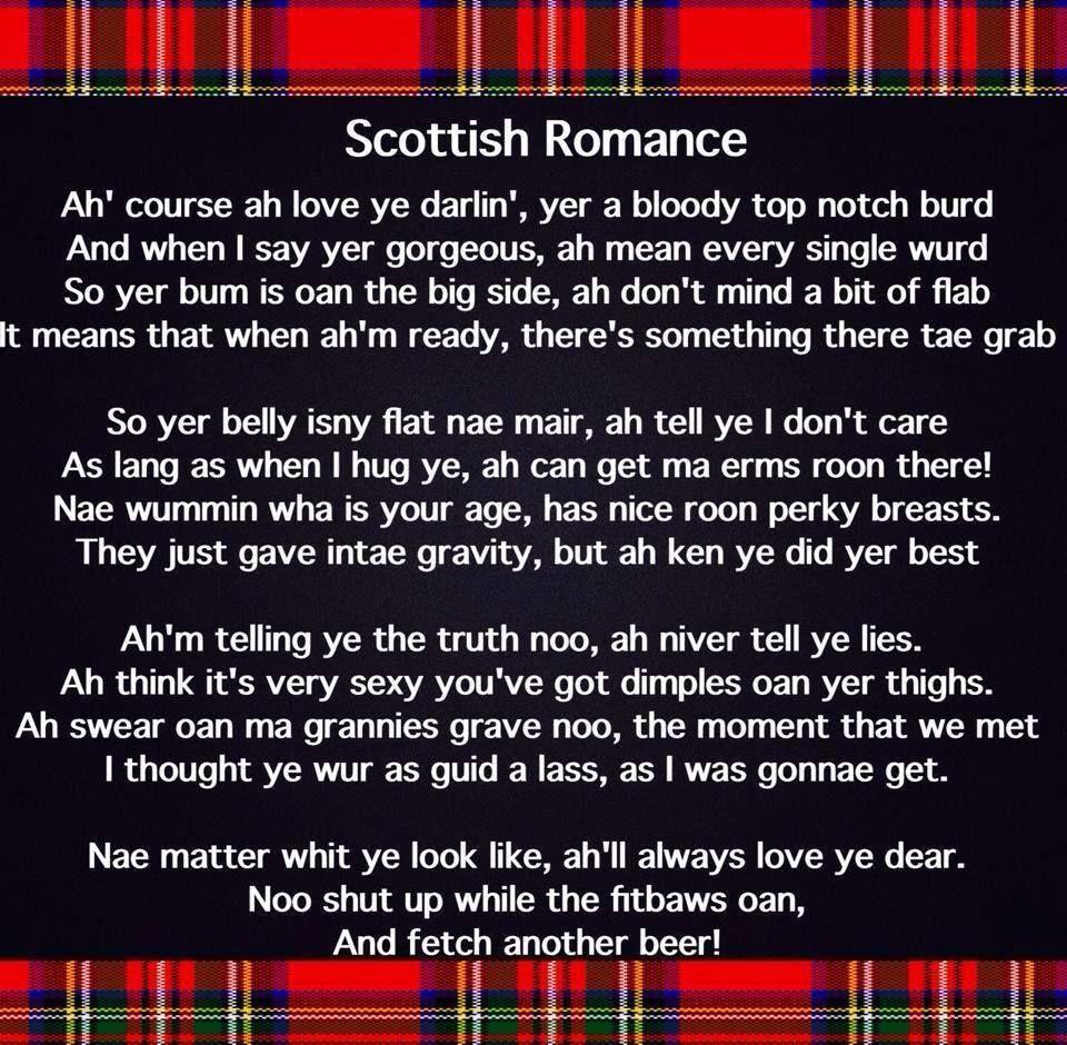 Scottish romance poem ayetis just a bit of scottish fun scottish romance poem kristyandbryce Choice Image