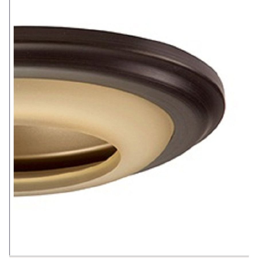 Shop Utilitech Tuscan Bronze Baffle Recessed Light Trim Fits