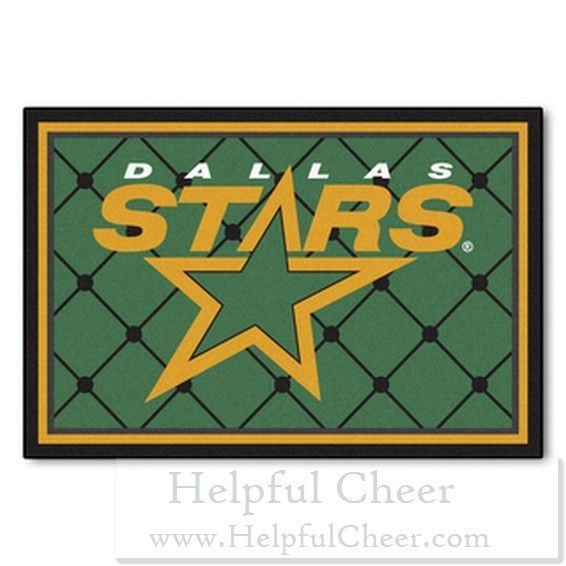 Fanmats NHL Dallas Stars Area Rug 5 x27 x 8 x27 - at - 0153 - Your Onli
