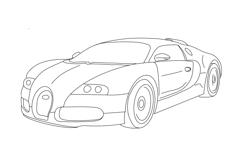 Ausmalbilder Bugatti